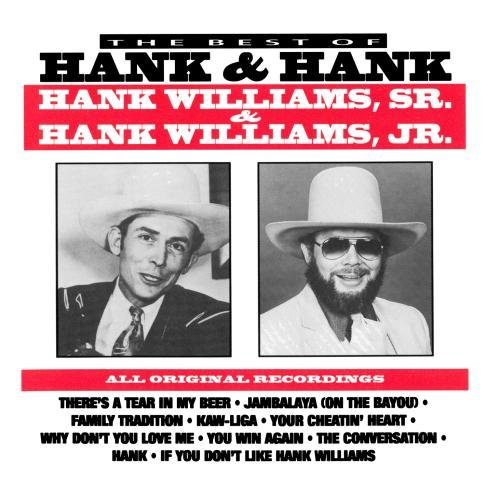 Williams Jr. Williams Sr. Best Of Hank & Hank CD R