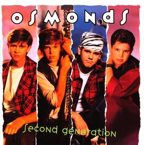 Osmonds Second Generation CD R