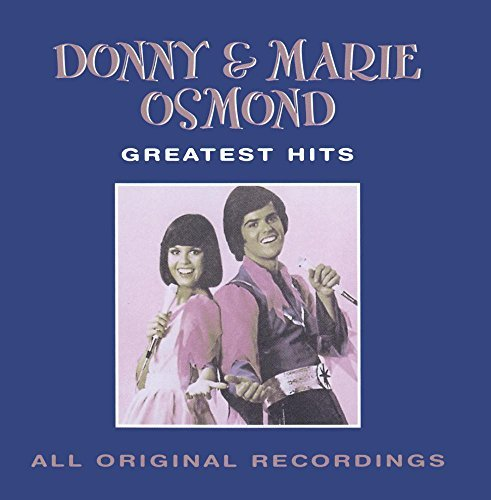 Donny & Marie Osmond Greatest Hits CD R