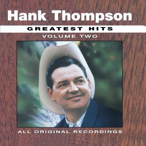 Hank Thompson Vol. 2 All Time Greatest Hits CD R