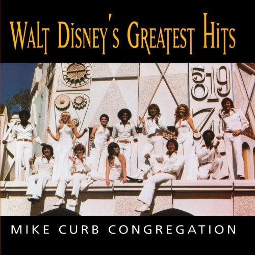 Mike Congregation Curb Walt Disney's Greatest Hits CD R