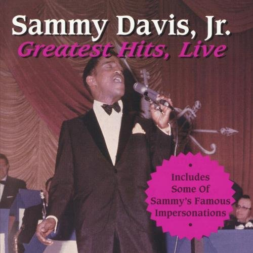 Sammy Jr. Davis Greatest Hits Live CD R