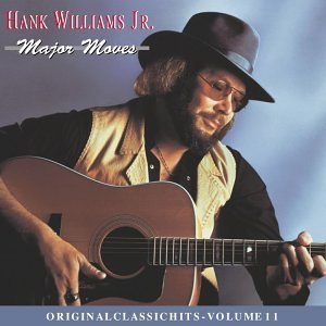 Hank Jr. Williams Major Moves CD R Original Classic Hits