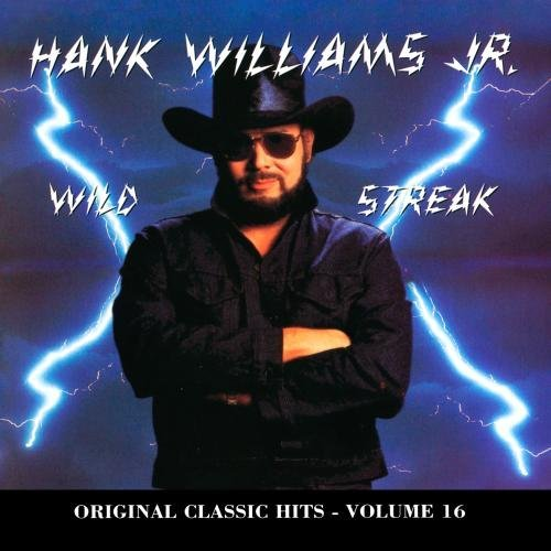 Hank Jr. Williams Wild Streak CD R Original Classic Hits