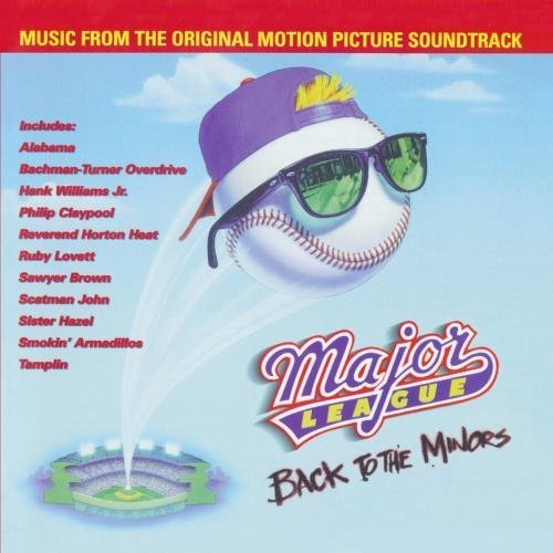 Major League 3 Back To The Min Soundtrack CD R Scatman Smokin' Armadillos
