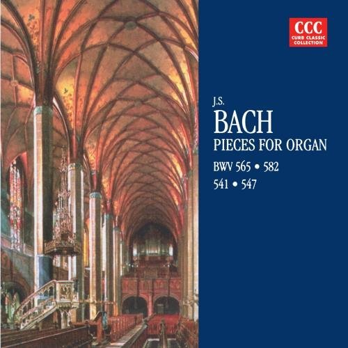 Johann Sebastian Bach Pieces For Organ CD R