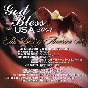 Best Of America Vol. 3 God Bless The Usa 2003 CD R Best Of America
