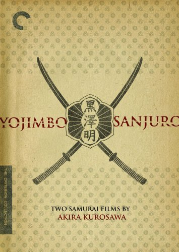 Yojimbo Sanjuro Two Films By Mifune Nakadai Bw Jpn Lng Eng Sub Nr 2 DVD Criterion Collection