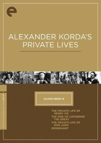 Alexander Korda's Private Lives Laughton Fairbanks Oberon Lanc Ws Jpn Lng Nr Criterion Collection
