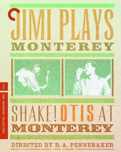Jimmi & Otis Redding Hendrix Jimi Plays Monterey & Shake! O Blu Ray Criterion Collection