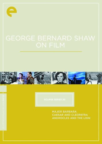 George Bernard Shaw On Film Major Barbara Caesar & Cleopa Clr Bw Nr 3 DVD Criterion Collection