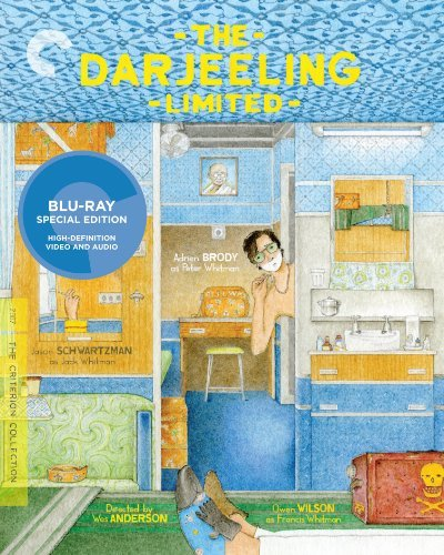 Darjeeling Limited Brody Huston Schwartzman Blu Ray R Ws Criterion Collection