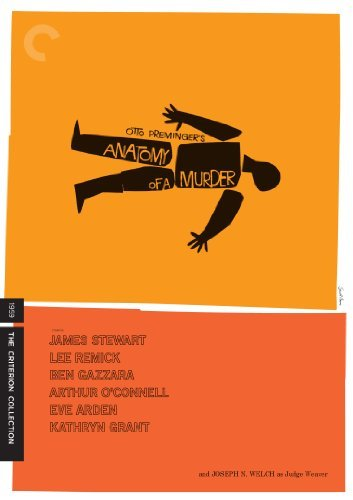 Anatomy Of A Murder Anatomy Of A Murder Nr 2 DVD Criterion
