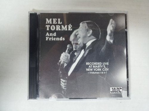 Mel & Friends Torme Recorded Live At Marty's New Y