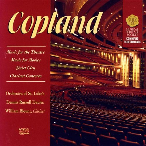 Copeland A. Music For The Theatre Music For Movies Quiet City