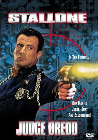 Judge Dredd Stallone Assante DVD R Ws
