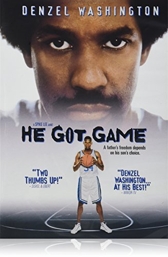 He Got Game Washington Allen Jovovich DVD R