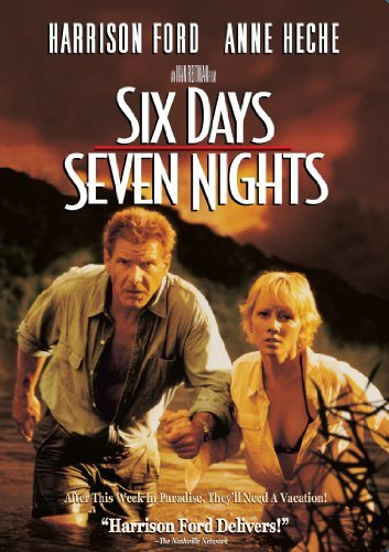 Six Days Seven Nights Ford Heche DVD Pg13 Ws