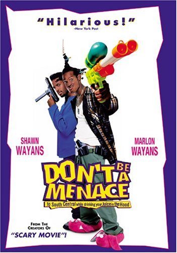 Don't Be A Menace To South Cen Wayans Wayans Clr Cc Dss Ws Keeper R