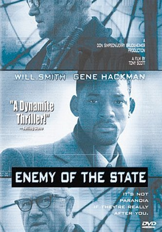Enemy Of The State Smith Hackman DVD R