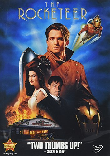 Rocketeer Campbell Connelly Dalton DVD Pg