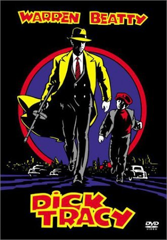 Dick Tracy (1990) Beatty Madonna Pacino Hoffman DVD Pg Ws