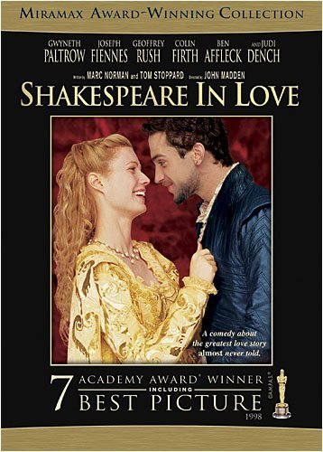 Shakespeare In Love Paltrow Fiennes Affleck Clr Cc Keeper R Miramax Coll