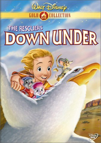Disney Rescuers Down Under Clr G Gold Coll.