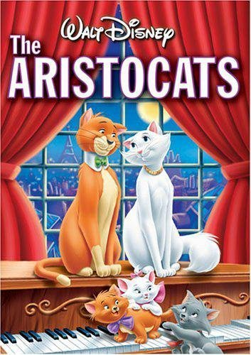 Aristocats Disney Clr G Gold Coll.