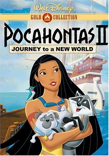 Pocahontas 2 Journey To A New World Disney Clr Nr Gold Coll.