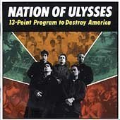 Nation Of Ulysses 13 Point Program To Destroy Am