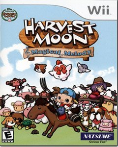 Wii Harvest Moon Magical Melody