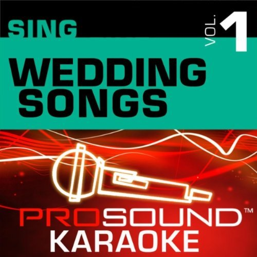 Sing Wedding Songs Sing A Long Karaoke Incl. Cdg