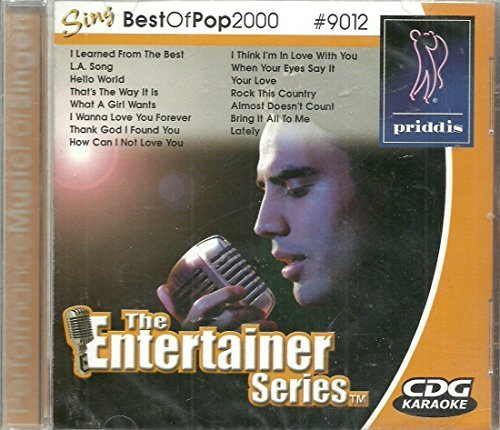 Best Of Pop 2000 Sing A Long Karaoke La Song Your Love Entertainer Series Cdg