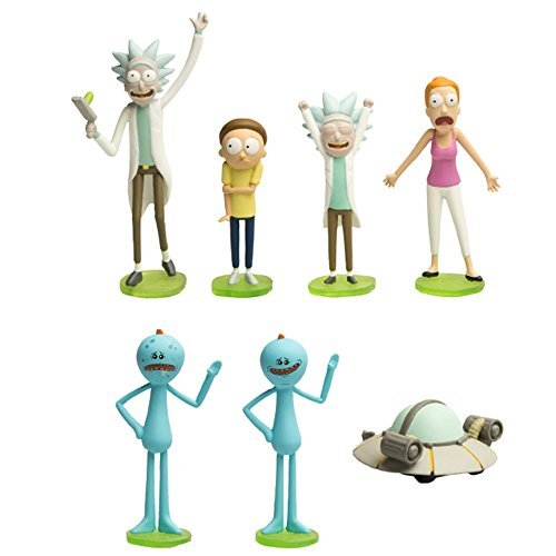 Mini Figure Rick And Morty Mini Figures Series 1