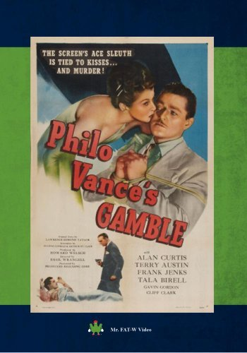 Philo Vance's Gamble Philo Vance's Gamble DVD Mod This Item Is Made On Demand Could Take 2 3 Weeks For Delivery