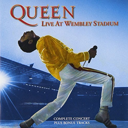 Queen Live At Wembley Stadium Remastered 2 CD