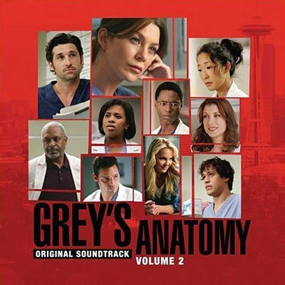 Vol. 2 Grey's Anatomy Television Soundtrack