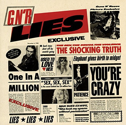 Guns N' Roses G N'r Lies Explicit Version
