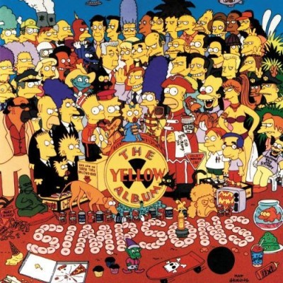 Simpsons Yellow Album