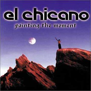 El Chicano Painting The Moment