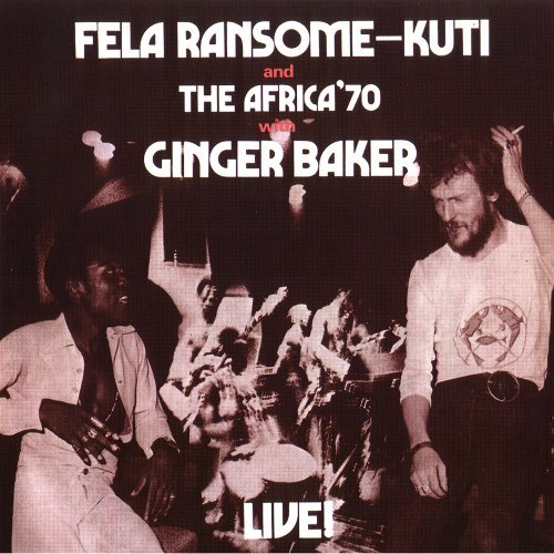 Fela Kuti Live With Ginger Baker