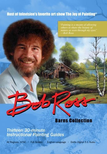 Bob Ross Joy Of Painting Barns Collecti Nr 3 DVD
