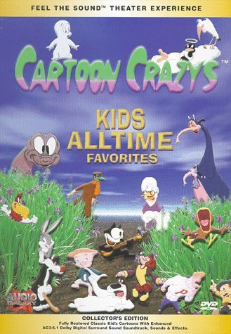 Cartoon Crazys Kid's All Time Favorites Clr Ac3 Keeper Chnr