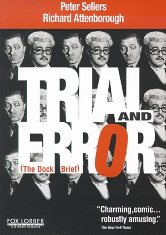 Trial & Error (1962) Sellers Attenborough Reid Lodg Bw Keeper Nr