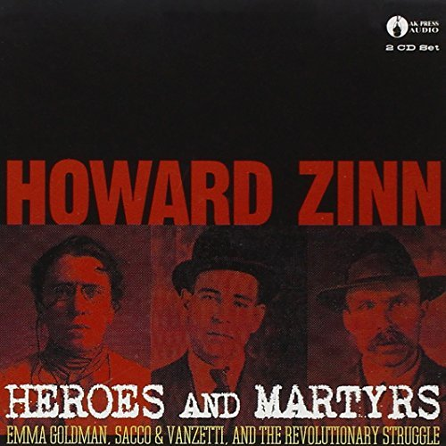 Howard Zinn Heroes & Martyrs 2 CD