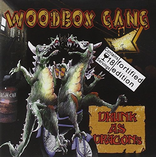 Woodbox Gang Drunk As Dragons Incl. Bonus Tracks