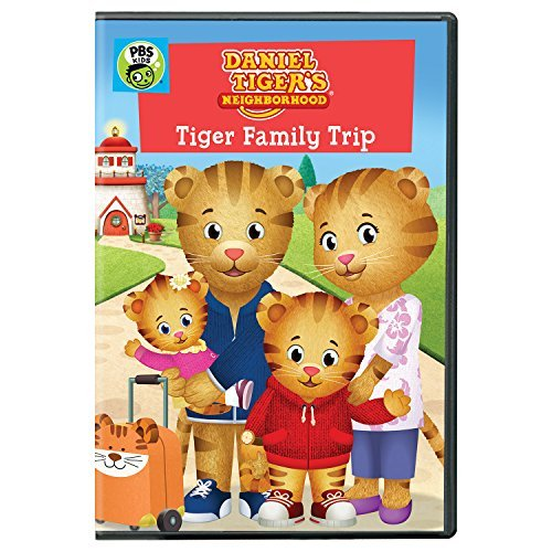 Daniel Tiger's Neighborhood Tiger Family Trip Pbs DVD G