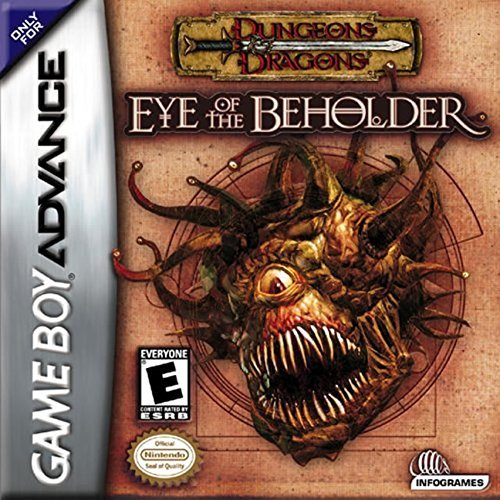 Gba Dungeons & Dragons Eye Of The