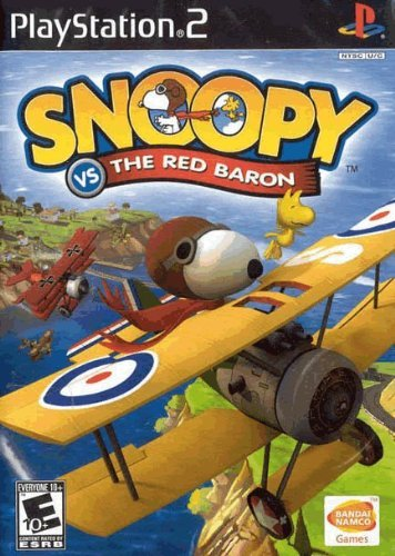 Ps2 Snoopy Vs The Red Baron